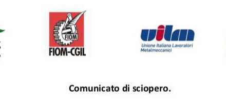 Comunicato di sciopero