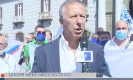 TGR Campania Metalmeccanici in piazza con l'UGL