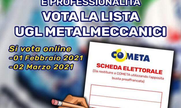 ELEZIONI FONDO COMETA 2021